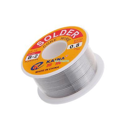 Tin Le Solder Core Flux Soldering Welding Wire Spool Reel 0.8mm 6337
