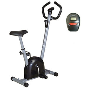 EXERCISE BIKE - CARDIO FITNESS WORKOUT MACHINE-GET FIT NOW