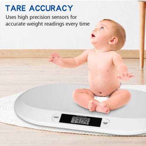 20kg / 44lb Capacity Digital Pet Baby Newborns Weighing Scale LCD Display ABS US Baby