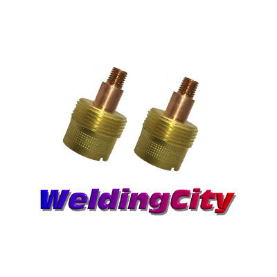 2-pk Tig Welding Large Gas Lens Collet Body 45v64s 332 Torch 920 Us Seller
