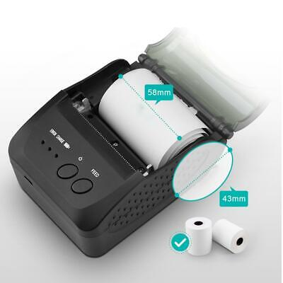 Direct Thermal Label Printer 58mm Wifi Usb Bluetooth Receipt Printer Android Ios