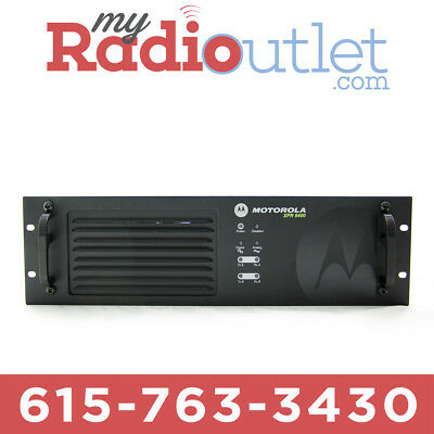 Motorola Xpr8400 Uhf Repeater Aam27qpr9ja7bn 403-470 Mhz With Capacity Plus