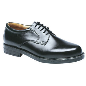 Mens-Black-Leather-Gibson-Shoes-Lace-Ups-Size-6-7-8-9-10-11-12-13-14