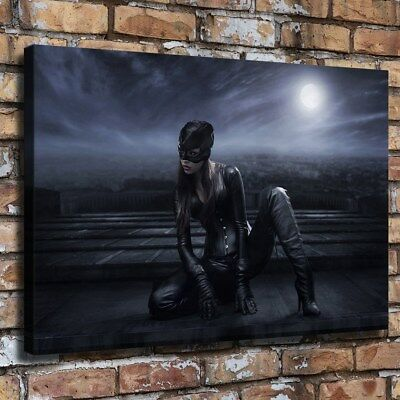 Catwoman DC Comics Poster HD Print on Canvas Home Decor Room Wall Art Picture ()