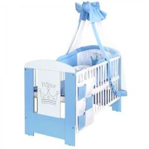 Lcp Kids Prinz 120x60 Baby Gitterbett Bettwäsche Set Günstig Kaufen