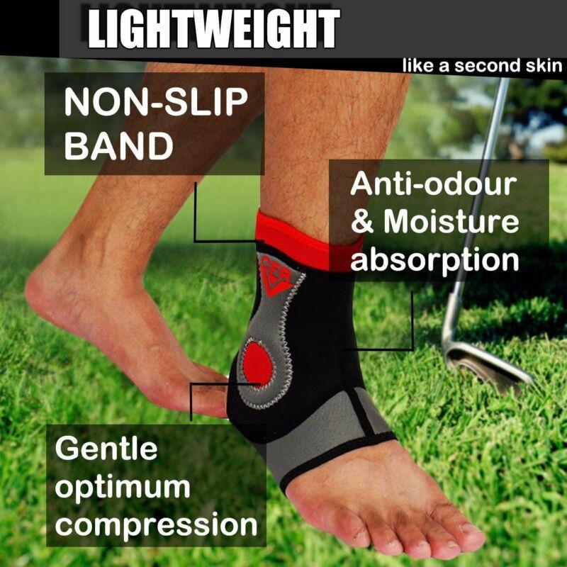 Ankle Support Sleeve Foot MMA Neoprene