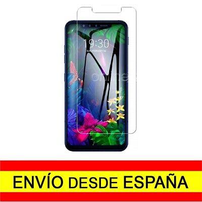 Cristal Templado para LG G8s THINQ Protector Pantalla Vidrio Premium a0437