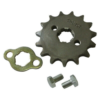 Front Sprocket 428 15/12 Tooth 17mm Motorcycle 125cc High (Bike Front Sprocket)