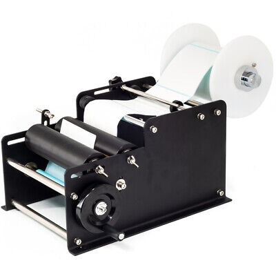Manual Labeling Machine Round Bottle Packing Machine By Hand Semi-automatic