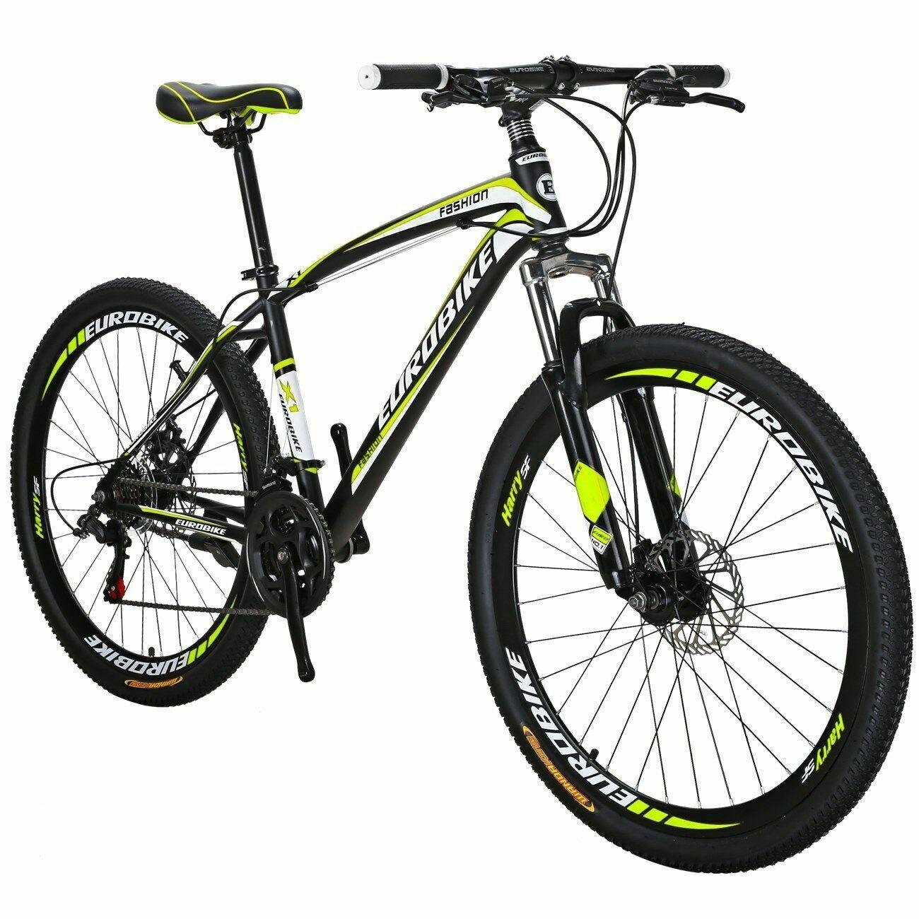 Brand New Mountain Bike Front Suspension 21 Speed Mens Bikes