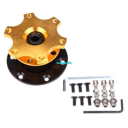 New Universal Car Steering Wheel Quick Release HUB Racing Adapter Snap Off Boss