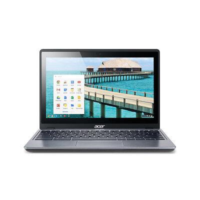 "Acer Chromebook Touch C720P-2625 11.6"" LED Intel 2955U 1.40GHz 4GB 16GB SSD"