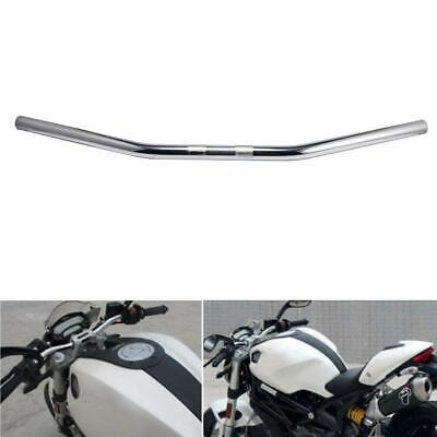 Steel 1'' Drag Bar Handlebar Fit for Yamaha Vstar XVS 650 1100 Custom Silverado