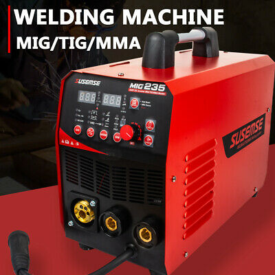 4in1 Mig235 235amp Migmagfulx Cored Lift-tig Stick Arc Combo Welder Gas