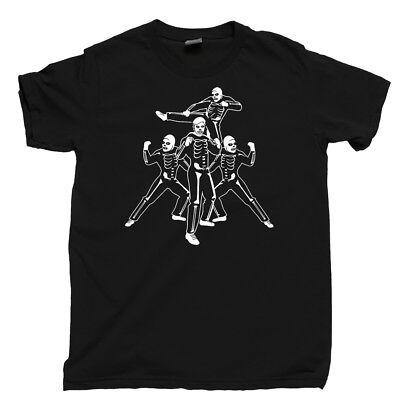Johnny Lawrence Cobra Kai Skeleton Costume T Shirt Sweep The Leg Karate Kid Tee](Skeleton T Shirt Costume)