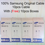 Lot of 10pcs 100%Original 1.2m 4ft Samsung Fast Charge Cable Micro USB Data SYNC