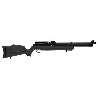 Hatsan AT44S-10 PCP Air Rifle Pellet Black Synthetic Stock Black Barrel