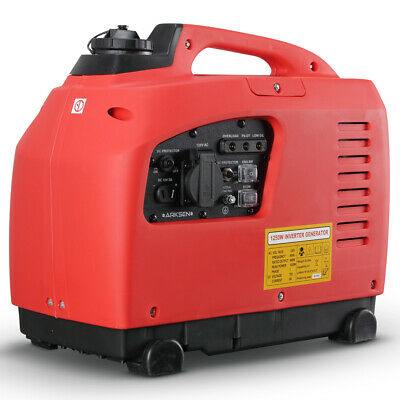 1250-Watts Portable Gasoline Inverter Generator EPA CARB 4-Stroke Gas Powered