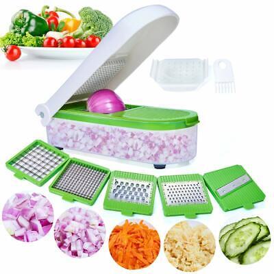 Freshware KT-405 4-in-1 Onion Chopper, Vegetable Slicer, Fru