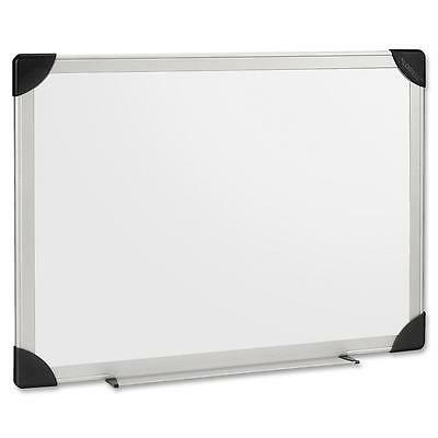 Lorell Dry-Erase Board, 8'x4', Aluminum Frame/White 55654