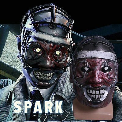 The Scary Halloween Games (Cosplay Game Dead by Daylight Mask Spark Of Madness Mask The Doctor Scary Mask)