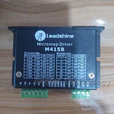 Leadshine M415b 2 Phase Microstepper Drive 36vdc 1.5a 14 16ma 100khz Match Nema
