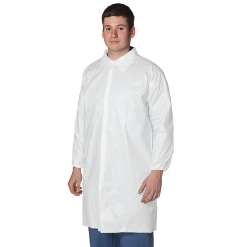 Disposable Lab Coats - 30 PACK. Large or XL
