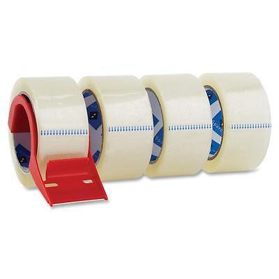 Sparco Packing Tapew Dispenser3 Core3.0mil2x55 Yards4pkcl 64011