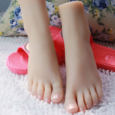 Female Silicone Foot Modelmannequin Display Shoes 3501 A591