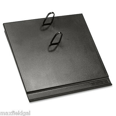 New Desk Calendar Base Platform Only E17 3-12 X 6-12 Black Plastic