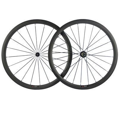 SHLBIKE 700C 38mm Carbon Wheelset Road Bike Wheels bicycle wheelset Novatec 271