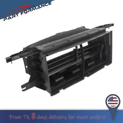 Front Bumper Lower Radiator Grille Airflow Shutter Assembly for Ford F-150 15-17