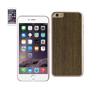 Consumer Electronics Official Website Reiko Iphone 6 Plus Wood Grain Slim Snap On Case In Red Gold