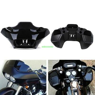 Unpainted ABS Inner Outer Headlight Fairing For Harley Road Glide FLTR 1998-2013