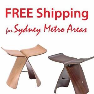 Clearance SALE - Sori Yanagi Style Butterfly Stool (Set of 2) Zetland Inner Sydney Preview