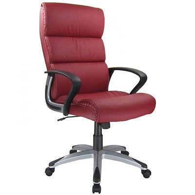 Bürostuhl Chefsessel Schreibtischstuhl Drehstuhl Design Kunstleder Stuhl Schwarz