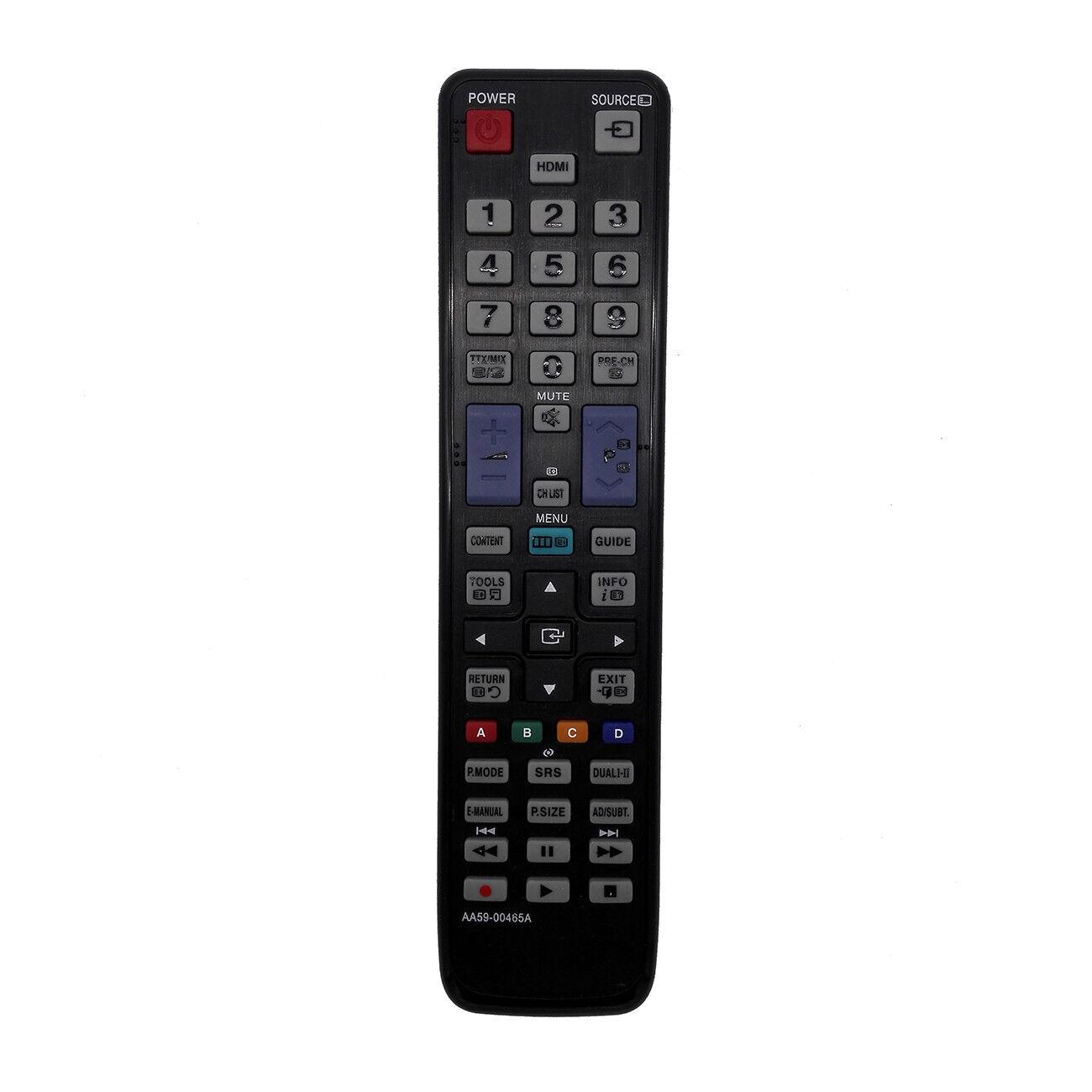 Nuevo control remoto de repuesto AA59-00465A para Samsung UE37D5000PW UE32D5000