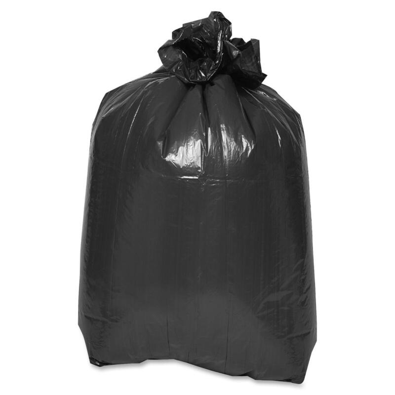 """Special Buy Trash Container Liners 43""""x47"""" 1.5mil LD 100/CT Black LD434715"""