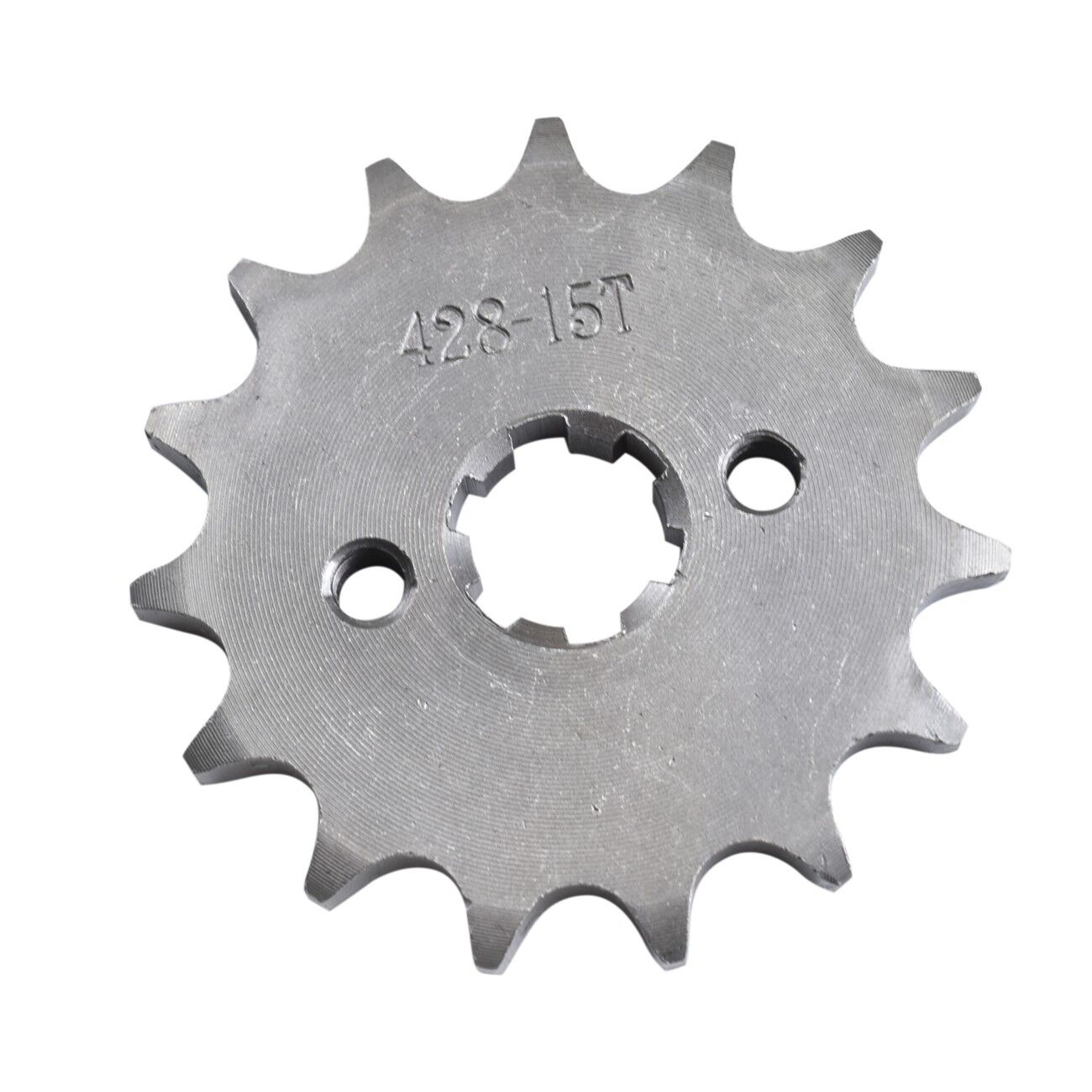 428 15T 17mm Front Engine Sprocket Metal Plate Gear Dirt Bike Lifan YX 90-160cc