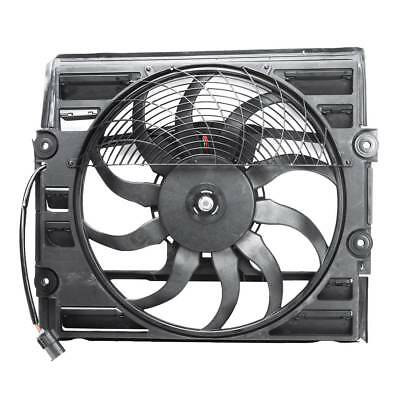 Radiator Condenser Cooling Fan Assembly for BMW 740i 740iL 750iL Z8 64546921383