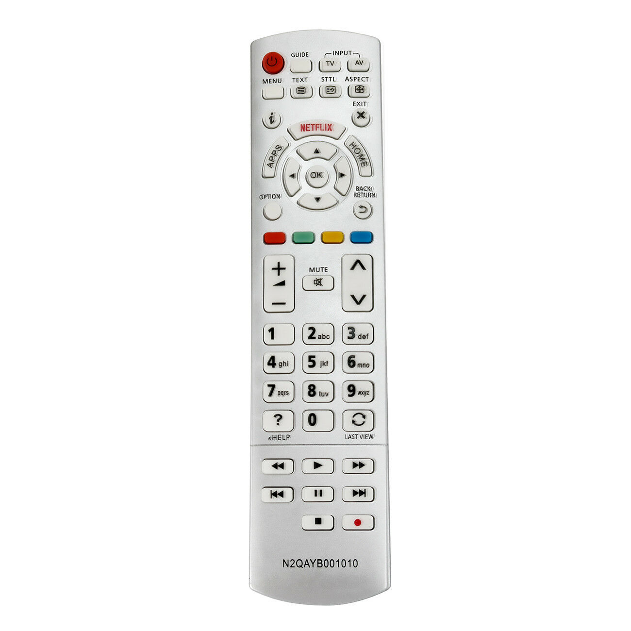 Nuevo reemplazo de control remoto N2QAYB001010 para Panasonic TV TX-50CS630E