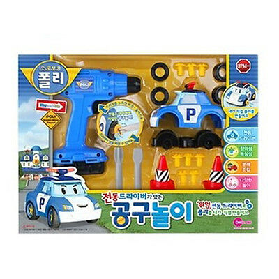 Robocar Poli Electric Driver Tools Play For Kids Korea TV An