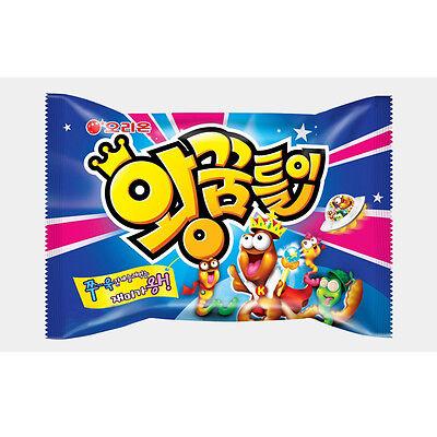 Giant Worm Shape Jelly 47g Korean Snack Food Soda Jelly Candy