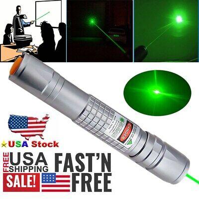 900miles Green Laser Pointer Pen Visible Beam Aluminium Lazer 1 Mw Astronomy