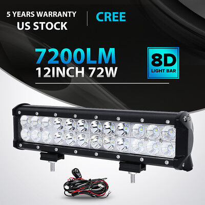 "52Inch 2720W CREE LED Work Light Bar IP68 Truck Offroad ATV PK 29/""30/"" 22/"" 50 US"