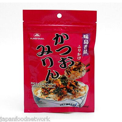 Japanese Rice Flakes Katsuo Furikake Seasoning Compound  in Pack 60g