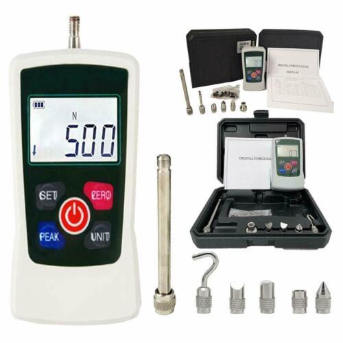 500N Digital Push Pull Force Meter Force Gauge Meter Dynamometer 50Kg 110Lb