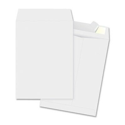 Business Source 65770 Tyvek Open-end Envelopes Plain 9x12 100bx White