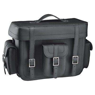 Top-Case held Cruiser Color:Black Size:20 Litres