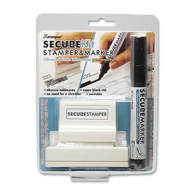 Shachihata Security Stamp Kit Large w/Marker 1